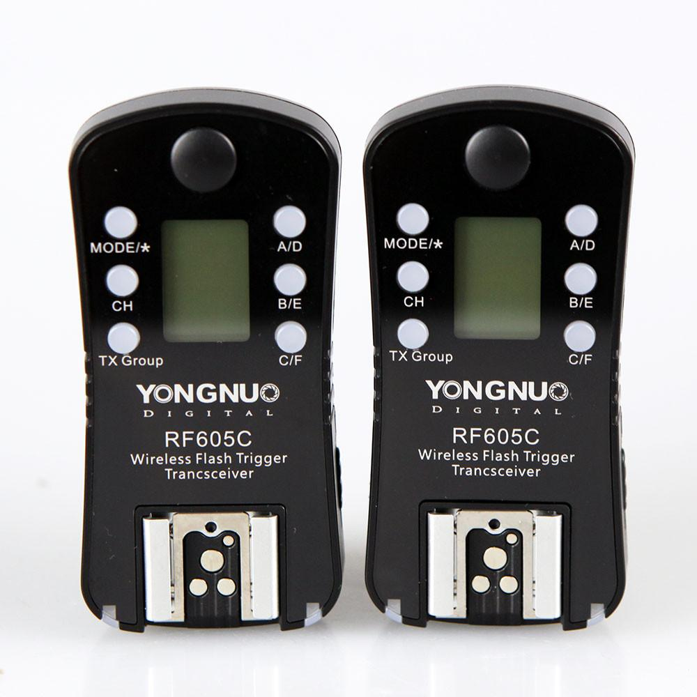 Yongnuo RF-605C Wireless 2.4GHz Flash Trigger Set for Canon exclude