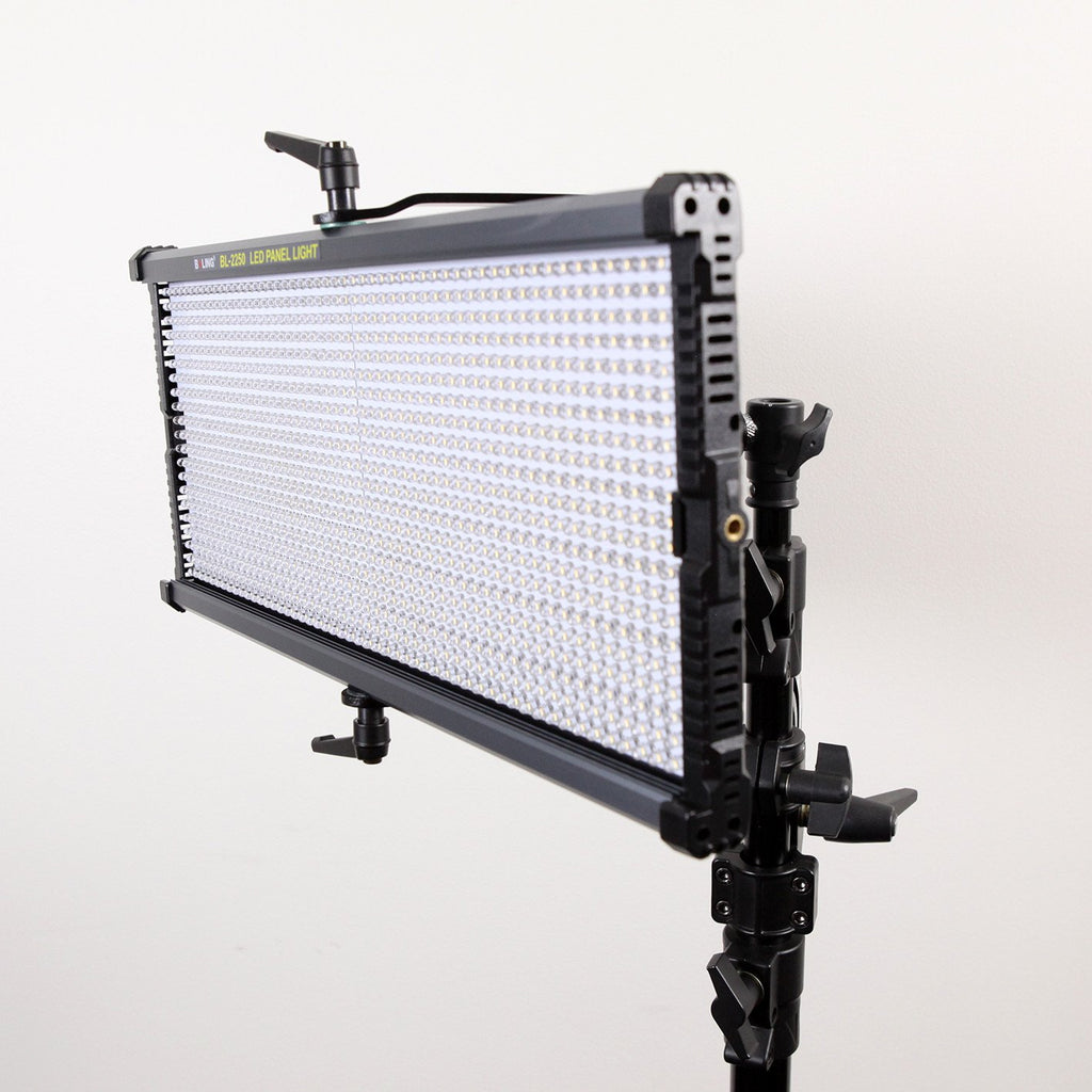 Boling 3x 2250P LED Video & Photography Continuous Portable Lighting Kit (21,100 Lumens at 1M)