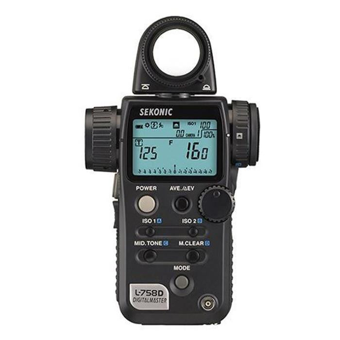 Sekonic Digitalmaster L-758D Light Meter (Australia Stock)
