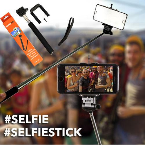 Universal Monopod Extendable Selfie Stick for Smartphones (iPhone, Samsung Galaxy, Google Nexus, HTC)