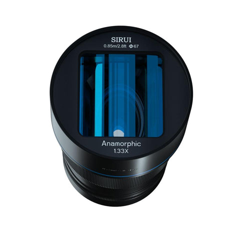 Sirui 50mm f/1.8 1.33x Anamorphic lens for Sony E Mount (APS-C)