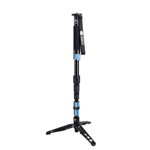 Sirui P-204SR Aluminum Photo Video Monopod with Support Feet