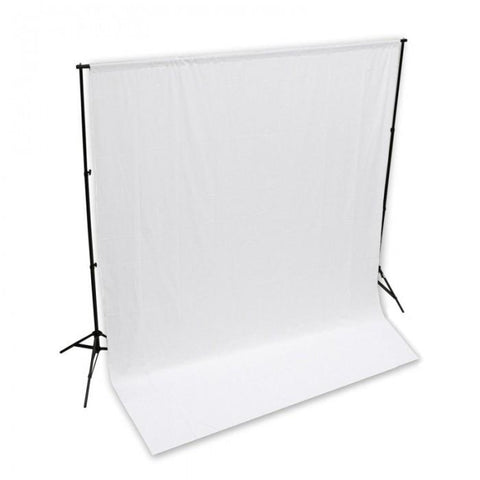 Backdrop Stand & Muslin Cotton Backdrop Video Photography Studio Kit