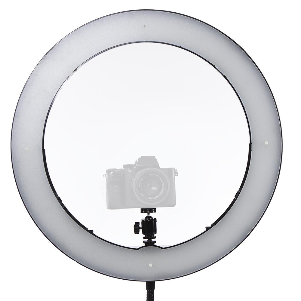 "Spectrum Aurora 19"" LED Ring Light Kit - Gold Luxe Pro V2"