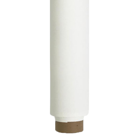 Spectrum Non-Reflective Paper Roll Backdrop (2.7 X 10m) - Candle Drip White
