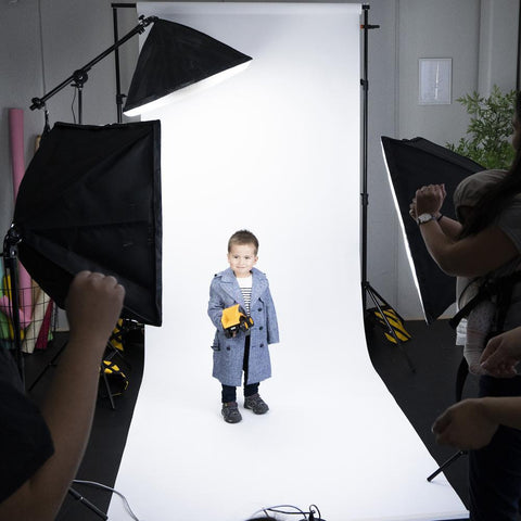 Photography Lighting 'LITTLE FASHION LOOKBOOK' Kit