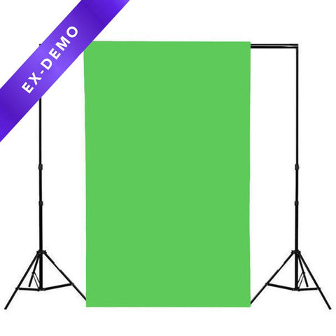 Spectrum Non-Reflective Half Paper Roll Backdrop (1.36m x 9.7m) - Chroma Key Green (DEMO STOCK)