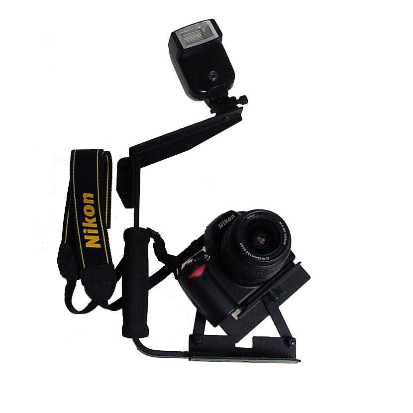 Hypop Speedy Camera Rotating Flash Bracket for DSLR Camera exclude