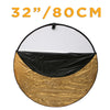 "Multi Standard 5-in-1 Photography Diffuser Reflector Disc (32""/80cm)"