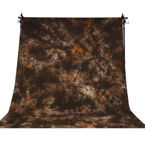 Hypop Cloud Series 3x6M Mottle Brown Cotton Muslin Background