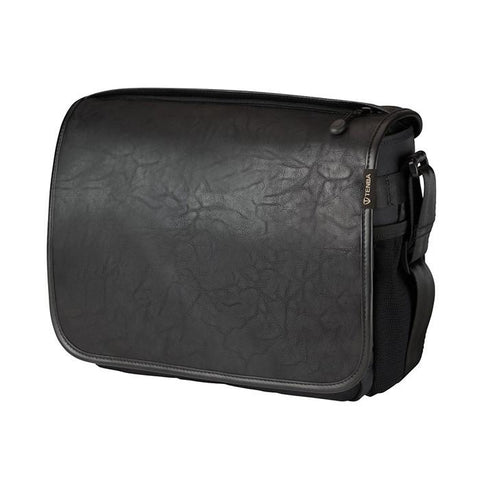 Tenba Switch 10 Camera Bag - Black/Black Faux Leather