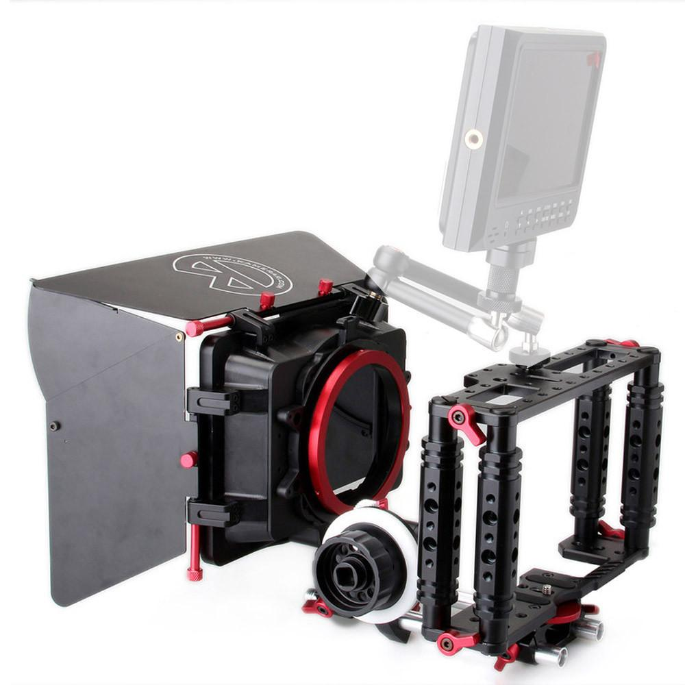 Kamerar Cine-Kit (TK-2 Camera Cage, FF3 Follow Focus & Max-1 Matte Box) exclude