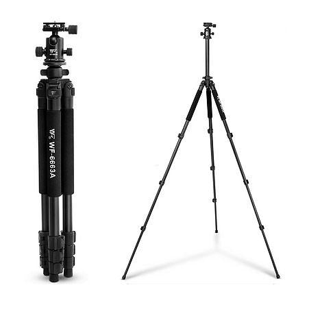 MeFOTO Roadtrip Convertible Tripod Kit Carbon Fibre - Black
