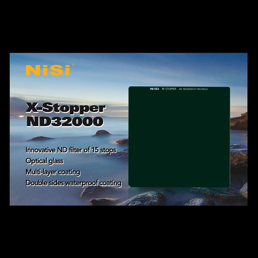 NiSi ND32000 15-Stop ND 4.5 X-Stopper Neutral Density Filter
