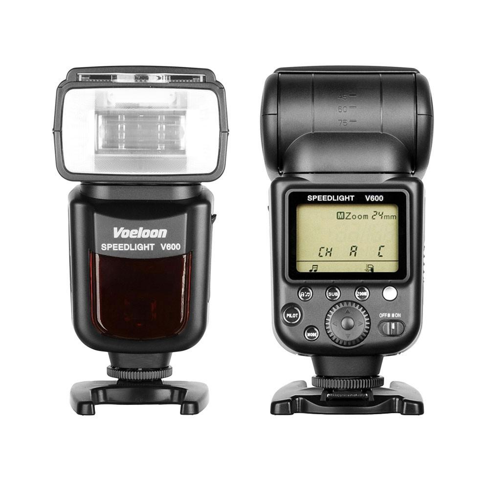 Voeloon V600 Premium Master Speedlight Flash TTL e-TTL for Canon