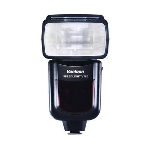 Voeloon V760 Wireless Slave TTL Flash Speedlight For Canon Hi Speed 1/8000 DSLR