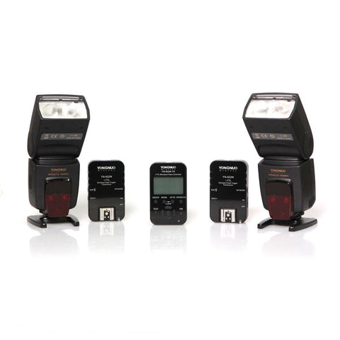 Yongnuo Complete Wireless TTL HSS Flash Control Kit For Nikon exclude