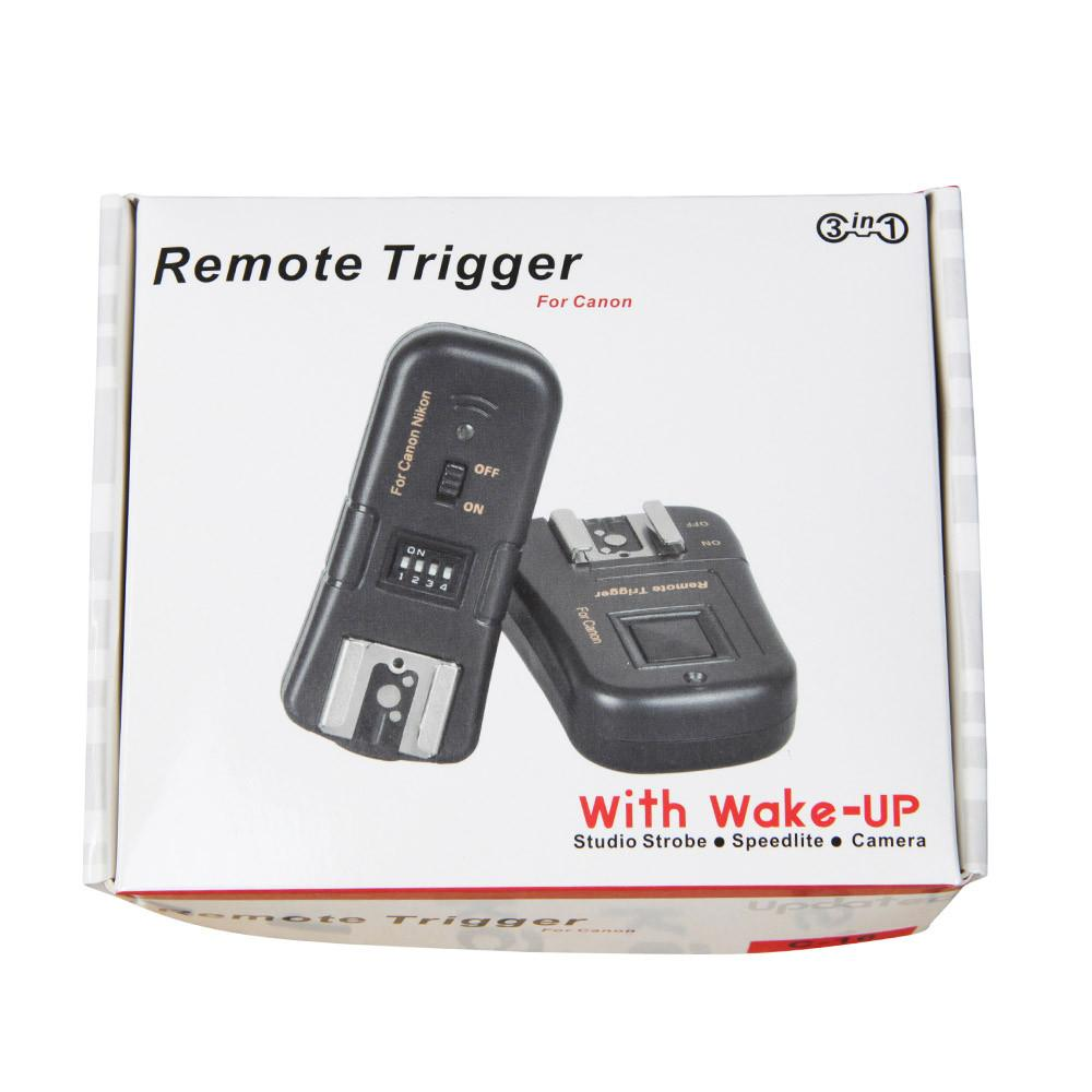 Hypop 3-in-1 Remote Trigger for Canon C-16 (with wake-up function)