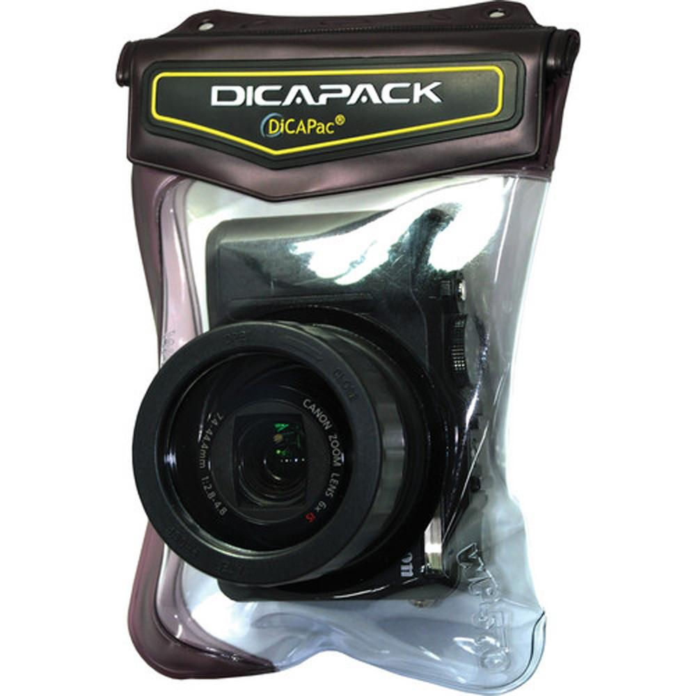 DiCAPac WP-570 Waterproof Case for Canon G11 and similar cameras exclude