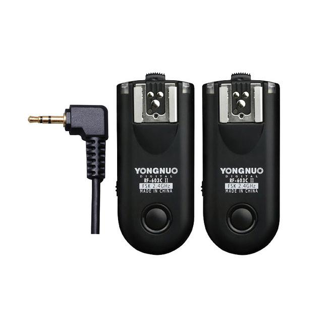 Yongnuo RF-603 II C3 Wireless Flash Speedlite Trigger Transceiver (Pair)