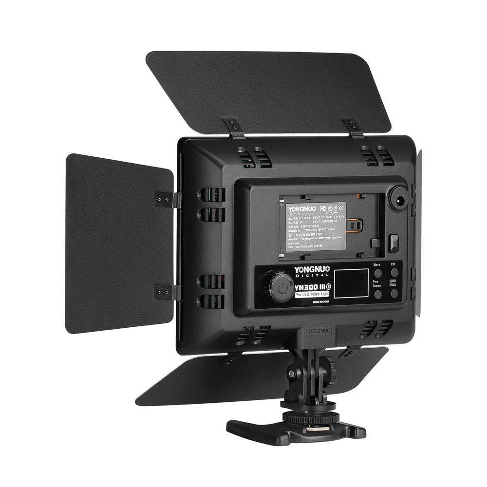 Yongnuo yn 300 iii 5500k led video studio light with remote hypop yongnuo yn 300 iii 5500k led video studio light with remote mobile control altavistaventures Choice Image