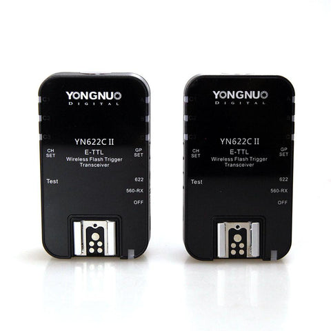 Yongnuo YN622C II Wireless Flash Trigger Transreceiver for Canon (Pair)