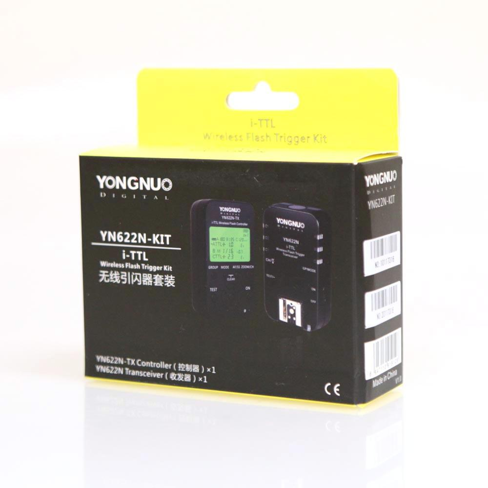 Yongnuo YN622N / YN622N-TX Wireless Flash Trigger Controller Kit for Nikon