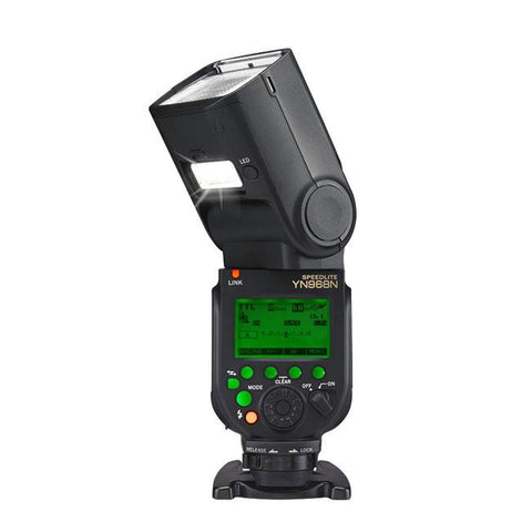 Yongnuo YN968N Wireless TTL HSS Speedlite Flash with LED for Nikon