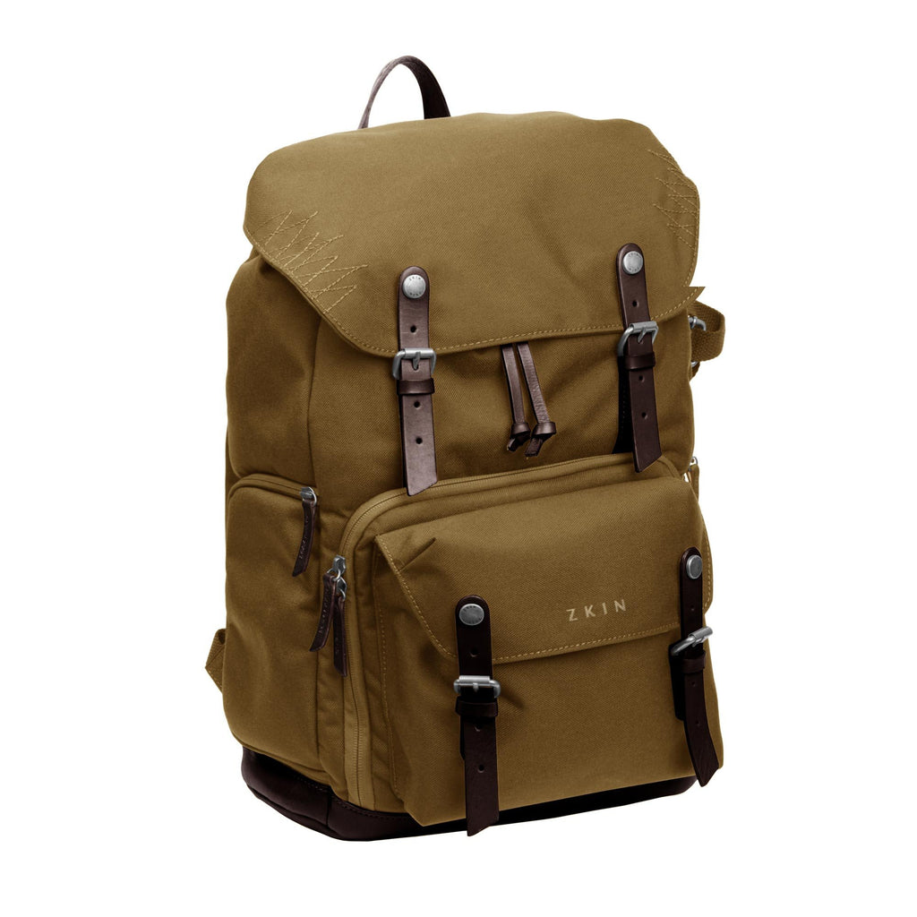 Zkin Raw Yeti Sand Copper DSLR Camera Backpack Bag exclude