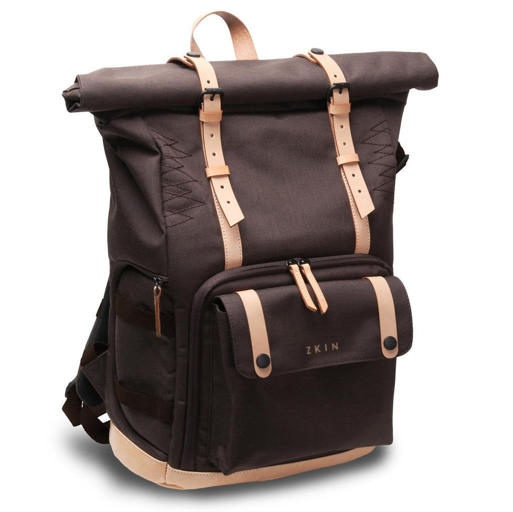Zkin Raw Yowie Wood Brown DSLR Camera Backpack Bag