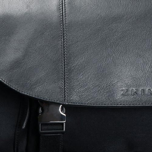 Zkin Kraken Diamond Black DSLR Camera Messenger Shoulder Bag