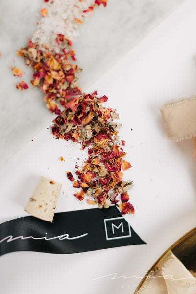 Rose and Dead Sea Salt Soak - MIA