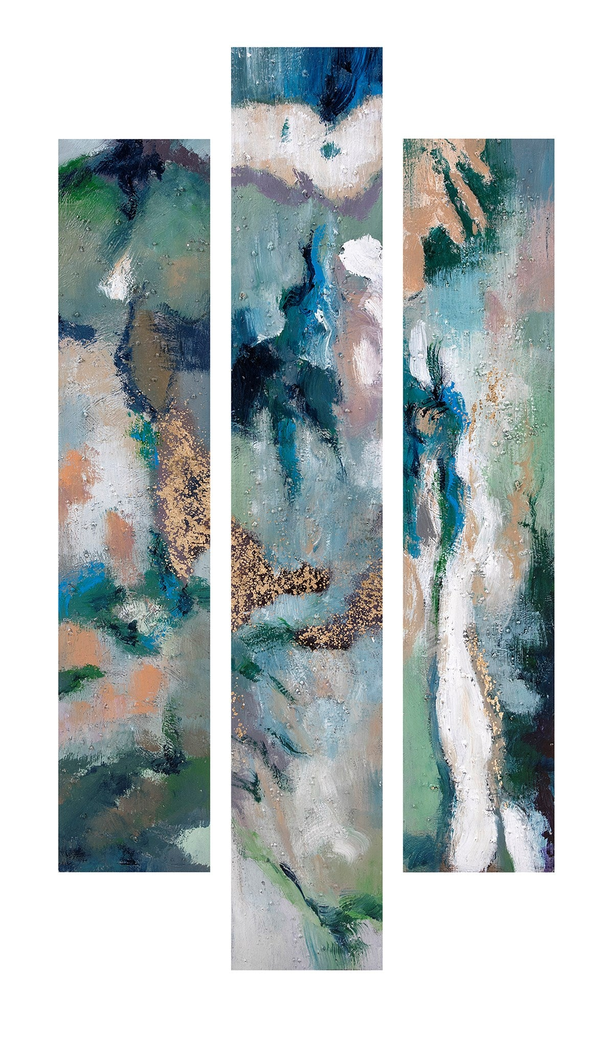 Painted Wall Art   Set Of 3