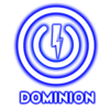 Dominion Universal products Logo power button