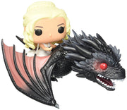 Pop Funko Deluxe Game Of Thrones Figure Daenerys Targaryen riding dragon