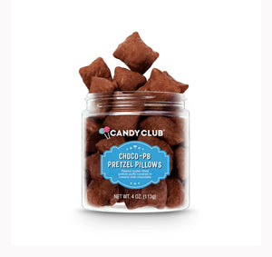 Candy Club - Chocolate peanut butter pillows