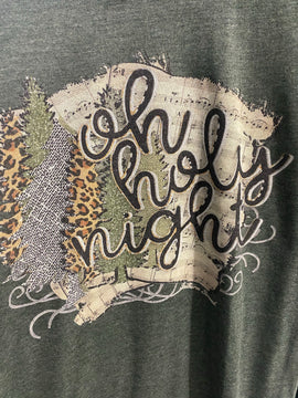 Oh Holy Night tee (curvy available)