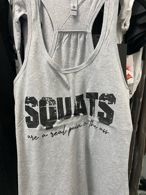 Squats are a real pain tank