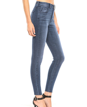 High rise straight cut ankle skinny CELLO brand