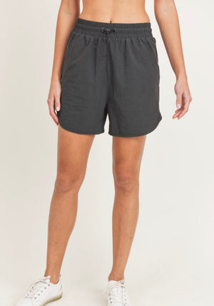 Side Wave Active Highwaist Shorts