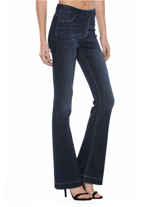 "High Rise Flare jegging 34"" inseam CELLO BRAND"