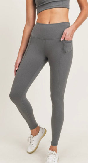 Essential high waist Lycra legging
