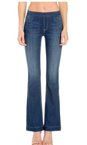 Cello mid-rise flare jegging (33in. Inseam)
