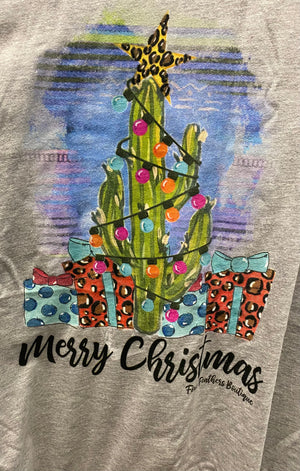 Merry Christmas Tee (curvy available)