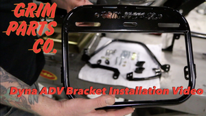 Dyna Adventure Bracket install video