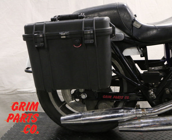 Harley Davidson FXR with Pelican Case Mounts