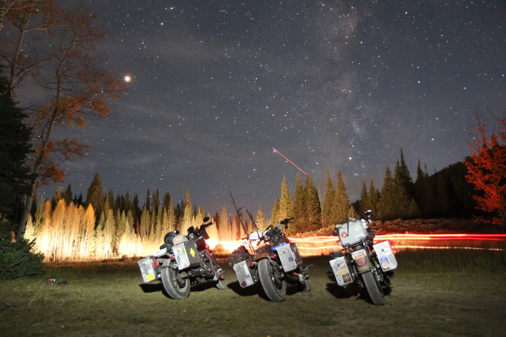 Harley Davidson Motocamping night photos