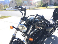Super 7 Handlebars for Harley Davidson