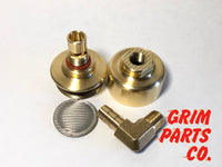 Fuel Filter for S&S Super G Carburetor by Grim Parts Co