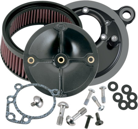 S&S Super Stock Stealth Hi-flow Air Cleaner Kit